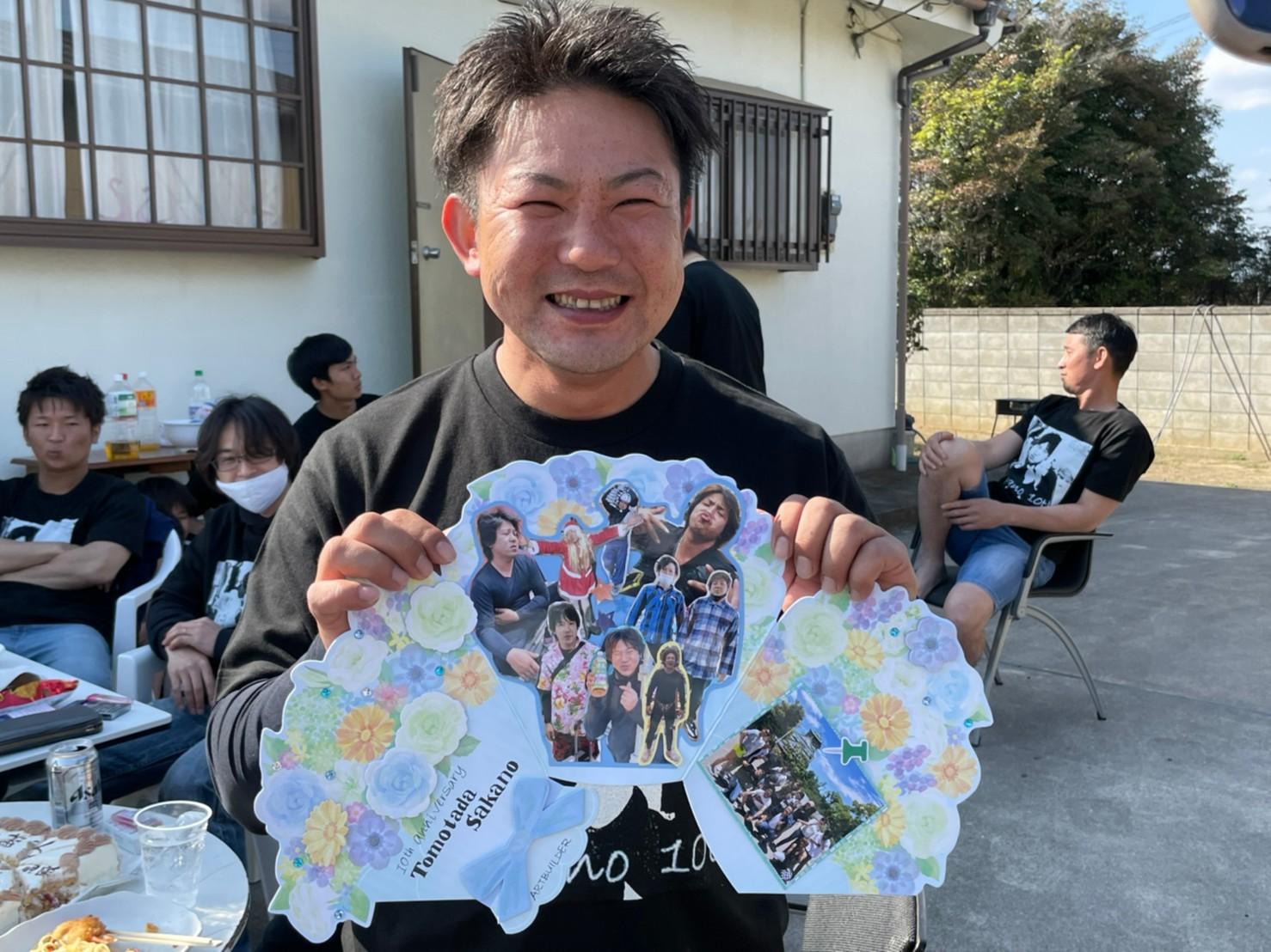 祝!10周年 アートビルダー初の永年勤続☆