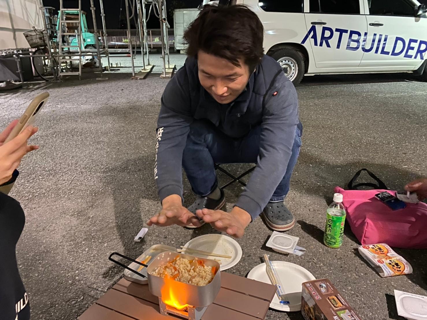 足場屋のイベント☆プチキャンプ☆